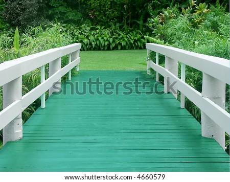 Haiku Bridge - stock photo