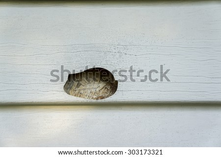 Hail damage stock images royalty free images vectors for Hail damage vinyl siding