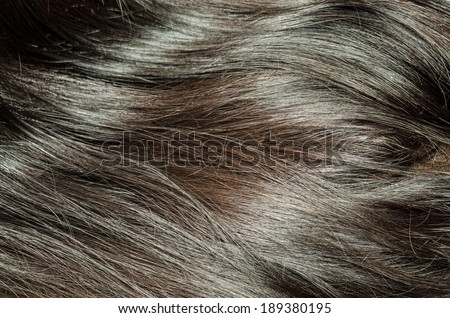Hair background - stock photo