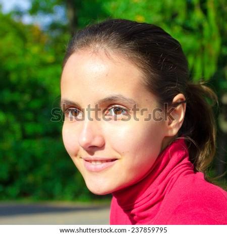 Hair Beauty Portrait  - stock photo