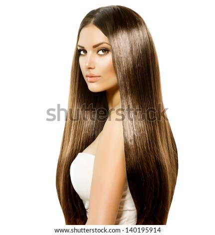 hair beauty woman very long healthy stock photo (royalty free