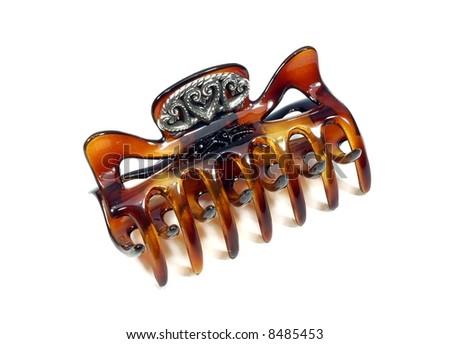 Hair clip - stock photo