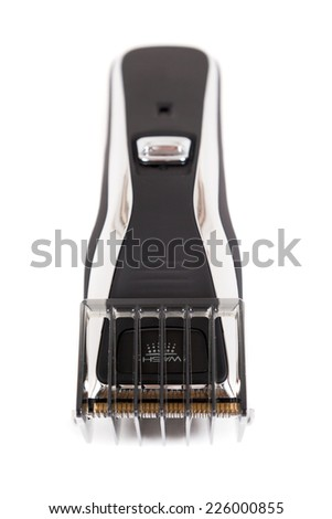 Hair clipper isolated on white background - stock photo