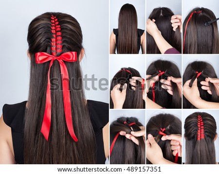 New Year Hairstyles For Long Hair : Hairstyles stock images royalty free & vectors shutterstock