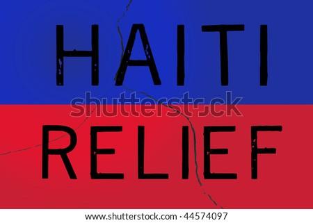 Haiti Relief - stock photo