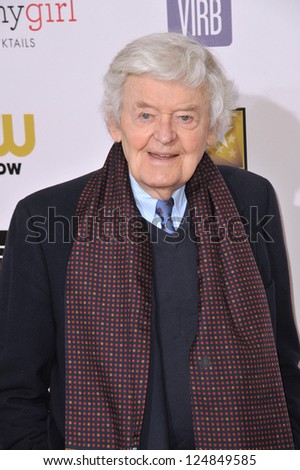 Hal Holbrook at the 18th Annual Critics' Choice Movie Awards at Barker Hanger, Santa Monica Airport. January 10, 2013  Santa Monica, CA Picture: Paul Smith - stock photo