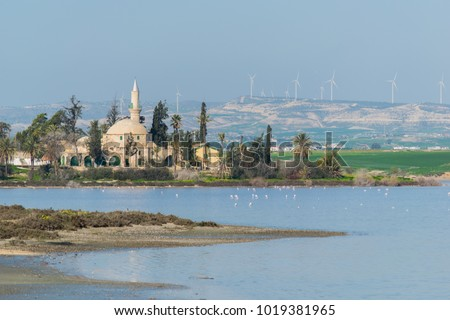 Hala Sultan Tekke burial place of the prophet Muhammad's aunt Umm Haram, and Muslim shrine in the island of Cyprus