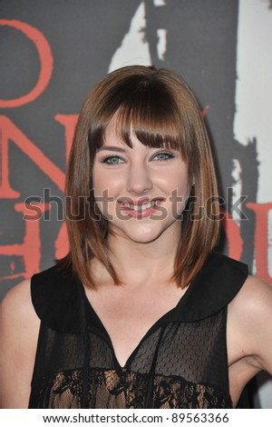 "Haley Ramm at the Los Angeles premiere of ""Red Riding Hood"" at Grauman's Chinese Theatre, Hollywood. March 7, 2011  Los Angeles, CA Picture: Paul Smith / Featureflash"