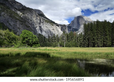 Half dome , Yosemite national park, USA