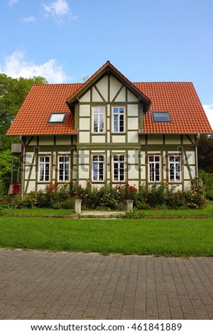 Half timbered house in Goettingen, Germany