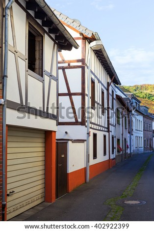 Half-timbered houses in Ahrweiler
