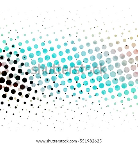 Halftone Dots in a Grunge Street Art Style with Shades of Black Blue and Pink on a White Backdrop - High Resolution Illustration, suitable for graphic design or background use.