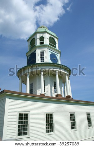 Halifax Clock Tower, NS, Canada - stock photo
