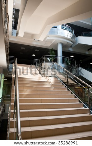 Hall Business Centre - stock photo
