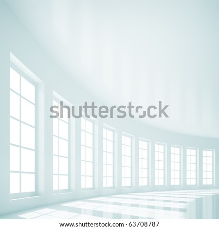 Hall Interior - stock photo