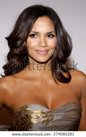 Halle Berry at the 2009 Essence Black Women in Hollywood Luncheon held at the Beverly Hills Hotel in Beverly Hills on February 19, 2009.  - stock photo