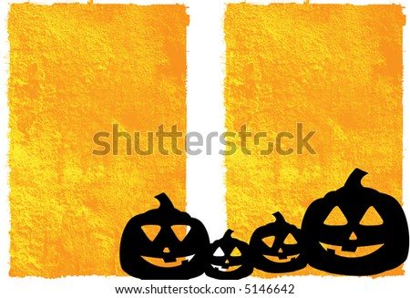 Halloween abstract Background frame