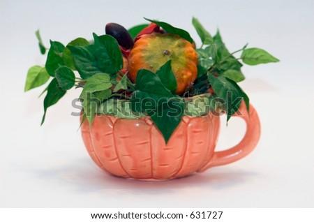 Halloween arrangement - stock photo