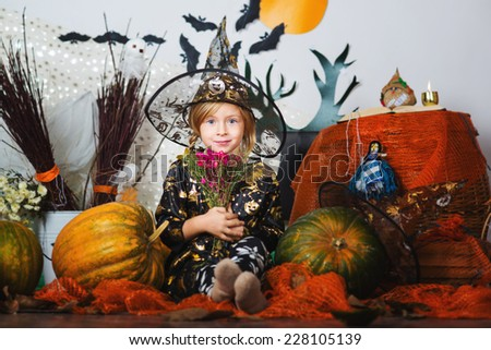 Halloween child