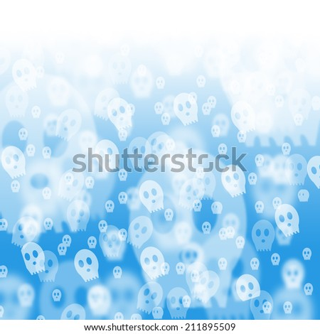Halloween Festive abstract bokeh background