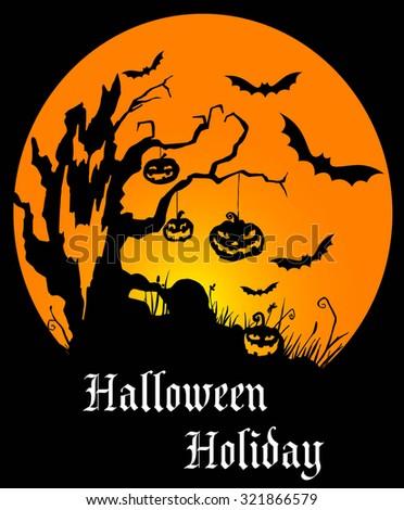 Happy Halloween Stock Vector 729969001 - Shutterstock