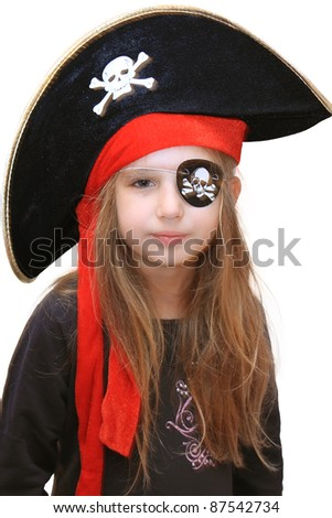 halloween pirate girl