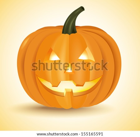Halloween pumpkin head lantern  , bitmap