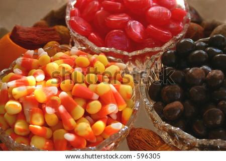 Halloween Snacks - stock photo