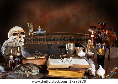 Witches kitchen stock photos images pictures for Witches kitchen ideas