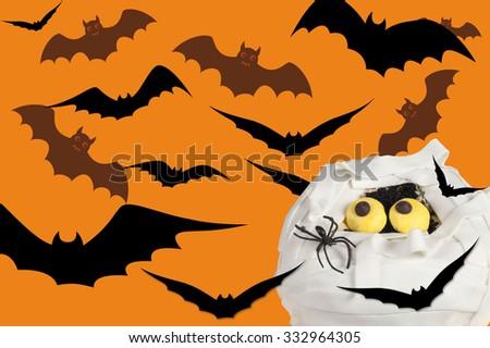 halloween zombie - stock photo