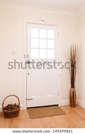 Hallway and front door