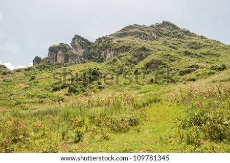 Ham Rong Mountain - stock photo