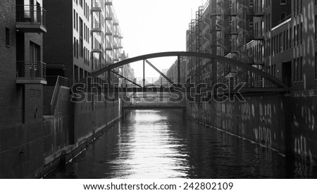 Hamburg - stock photo