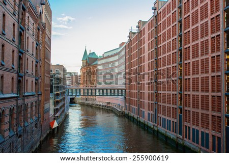 Hamburg, Germany - stock photo
