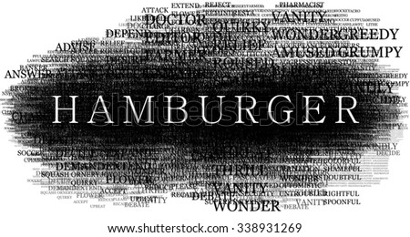 Hamburger word.