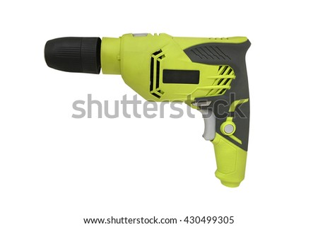 hammer drill isolated on white background