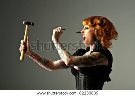 Hammer Head - stock photo