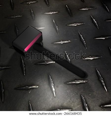 Hammer Metal - stock photo