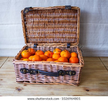 stock-photo-hamper-basket-full-of-fresh-