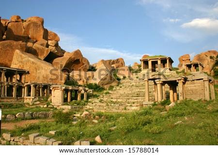 Hampi, India - stock photo