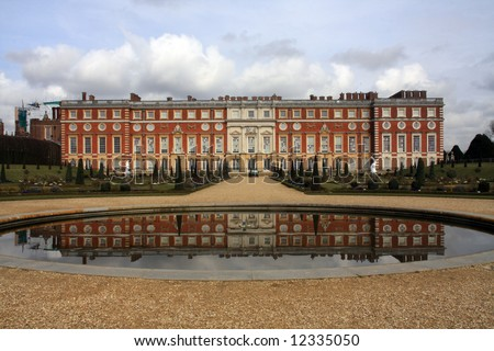 Hampton Court Palace and its fabulous grounds parks and flowers