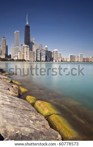 Hancock Building, Chicago - stock photo