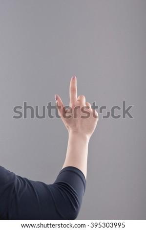 Hand - stock photo