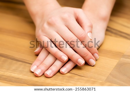 Hand and nail care - stock photo