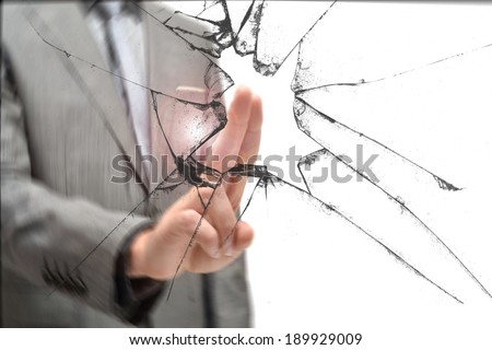 Breaking Glass Stock Photos Images Amp Pictures Shutterstock