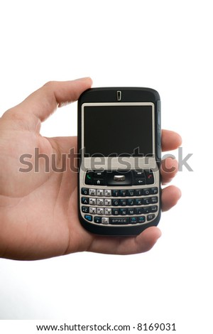 hand displaying a smart phone