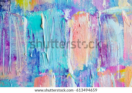 Group of Texture Paint Colors Acrylic