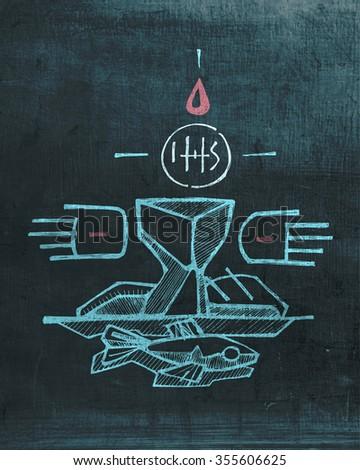 hand drawn vector illustration drawing jesus stock vector Heart Clip Art Cool Happy Heart Clip Art
