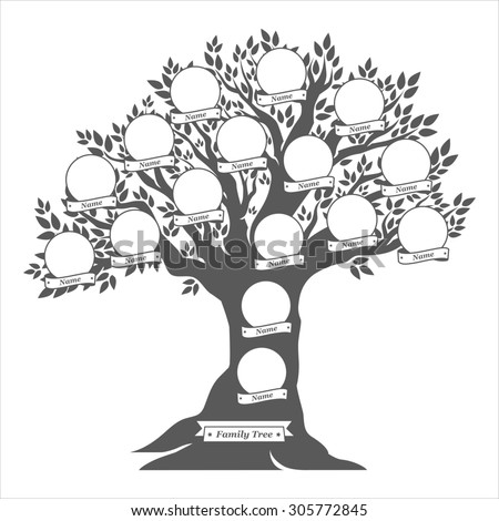 Family Tree Design Ideas family tree design ideas family trees to show off your roots great nursery art Hand Drawn Oak Tree Family Tree Vintage Style For Retro Design