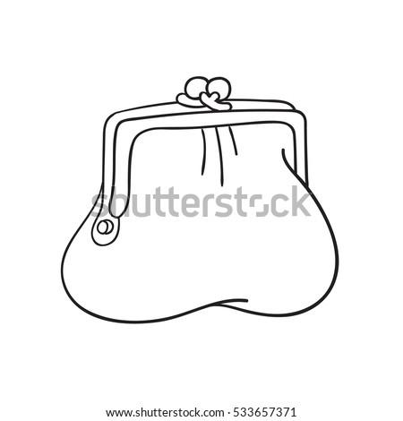 cartoon purse stock photos royaltyfree images amp vectors